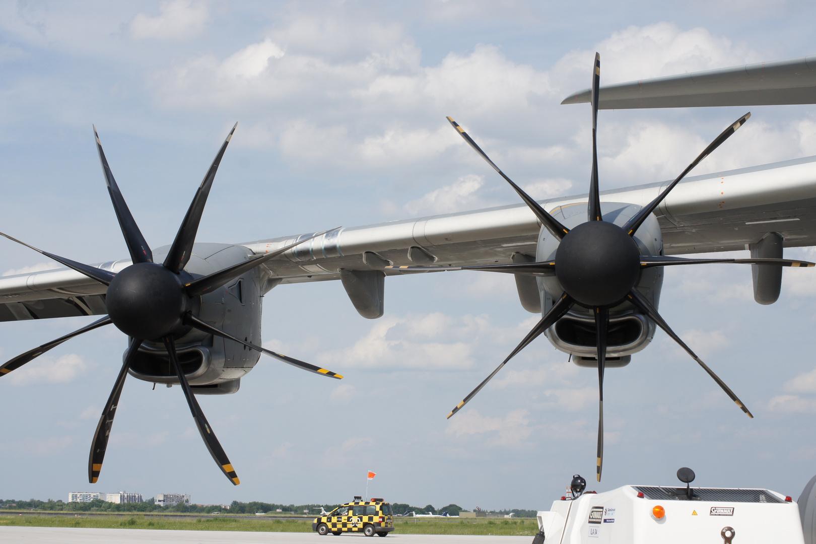 EPI TP400-D6 Triebwerke mit Ratier FH 386 Propellern