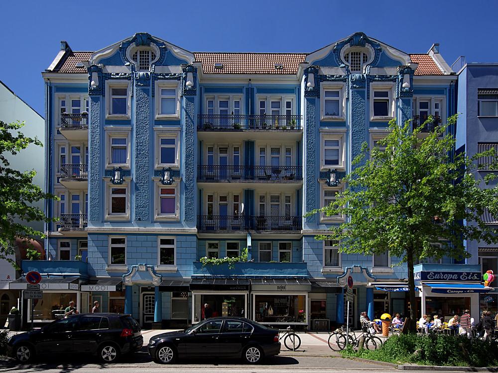 Eppendorf - Blaue Stunde