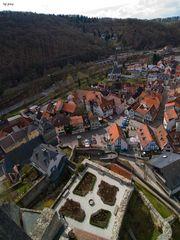 Eppsteins Altstadt von oben