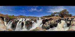 Epupa Falls Panorama