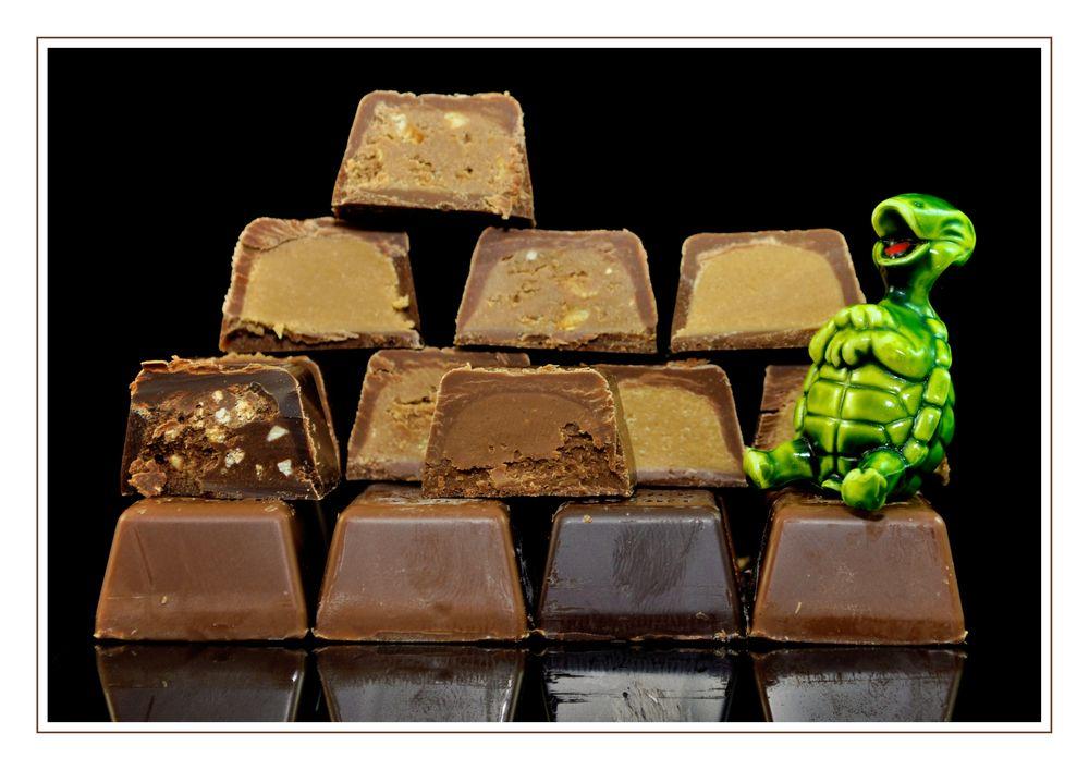 Er mag keine Schokolade *
