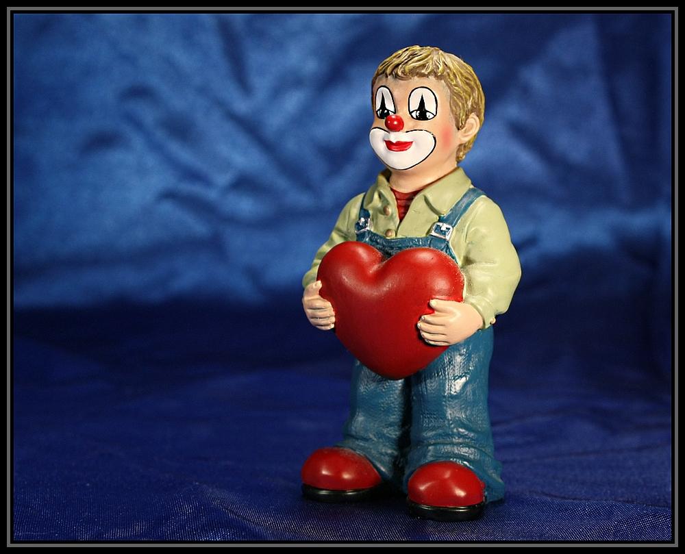 Er will sein Herz verschenken