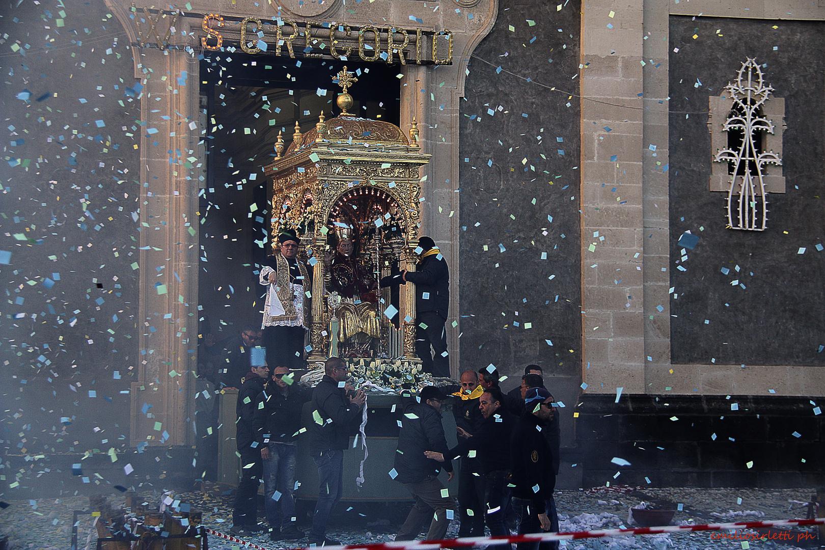 Era la festa di San Gregorio