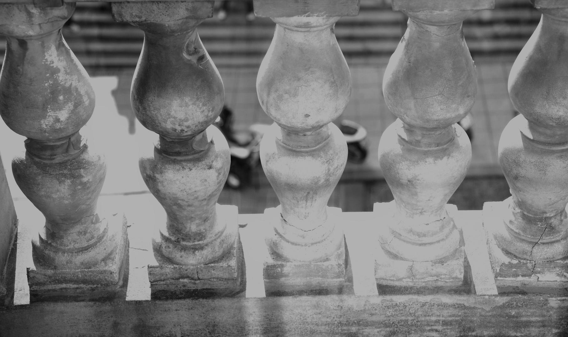 erahnte Säulen