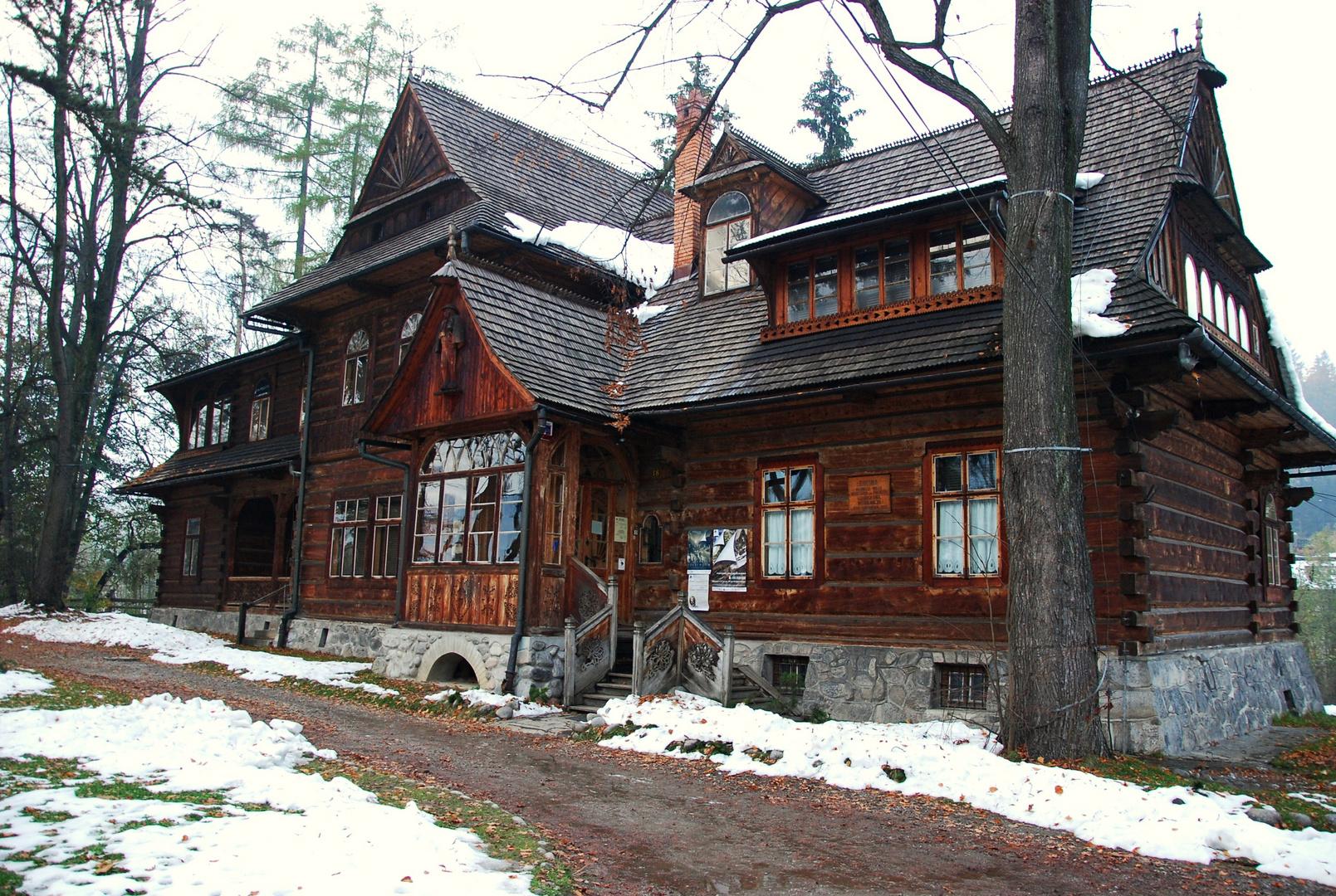 Erase una vez la casita de madera...