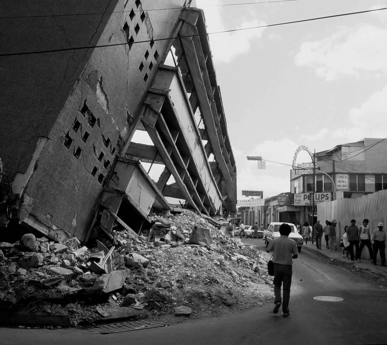 Erdbeben - San Salvador 1986