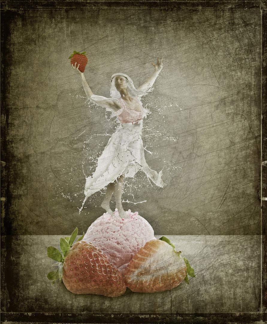 Erdbeereis + Eistänzerin = Erdbeereista?nzerin