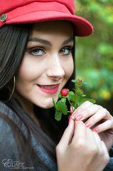 Erdbeeren im Oktober