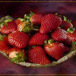 Erdbeeren  Zeit
