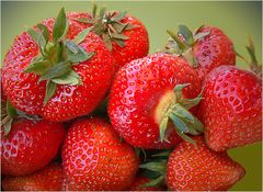 Erdbeerenlieferservice