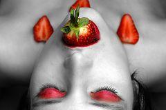 Erdbeerküsse pflücken...
