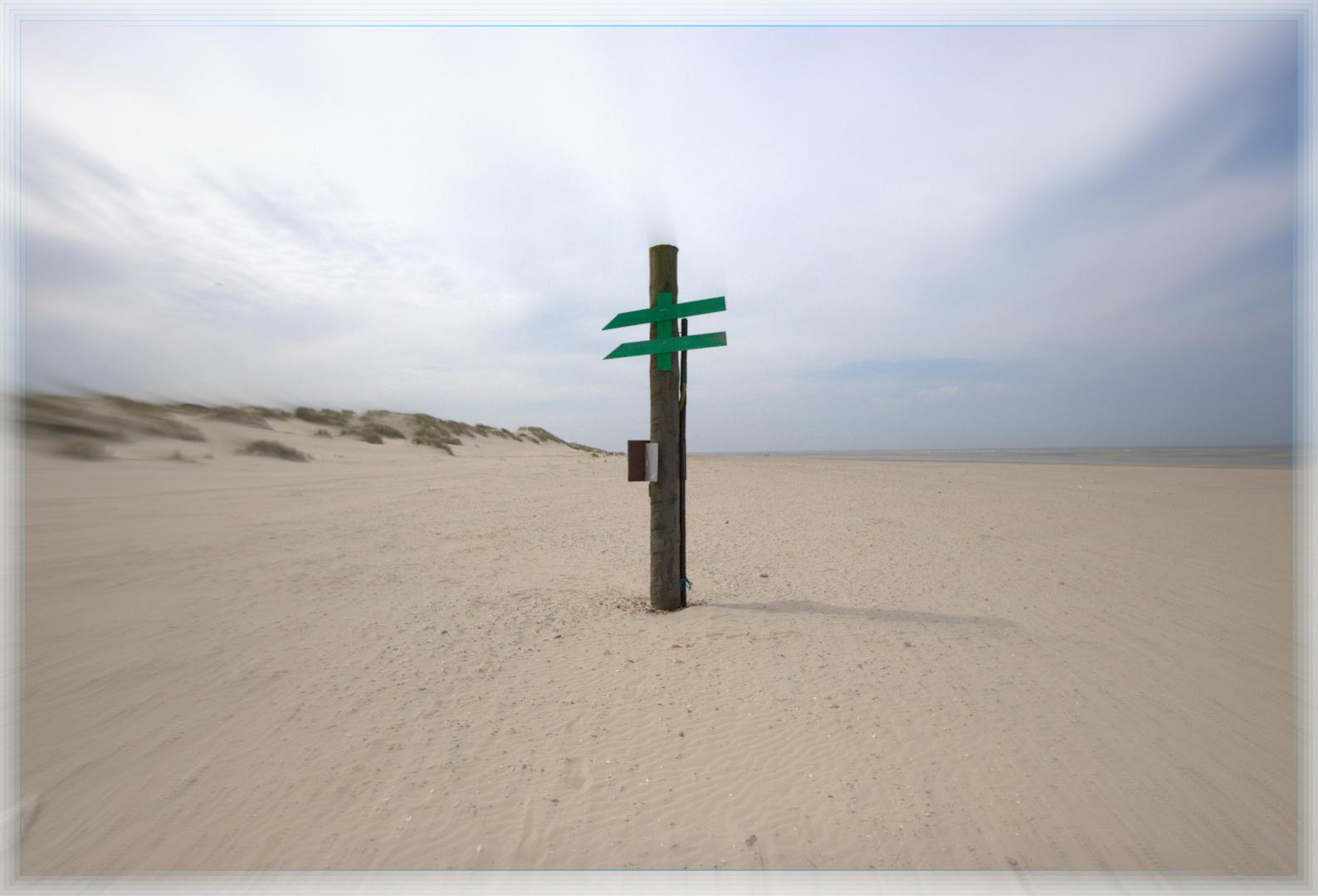 - Erde - Europa - Nordsee - Baltrum - Naturstrand