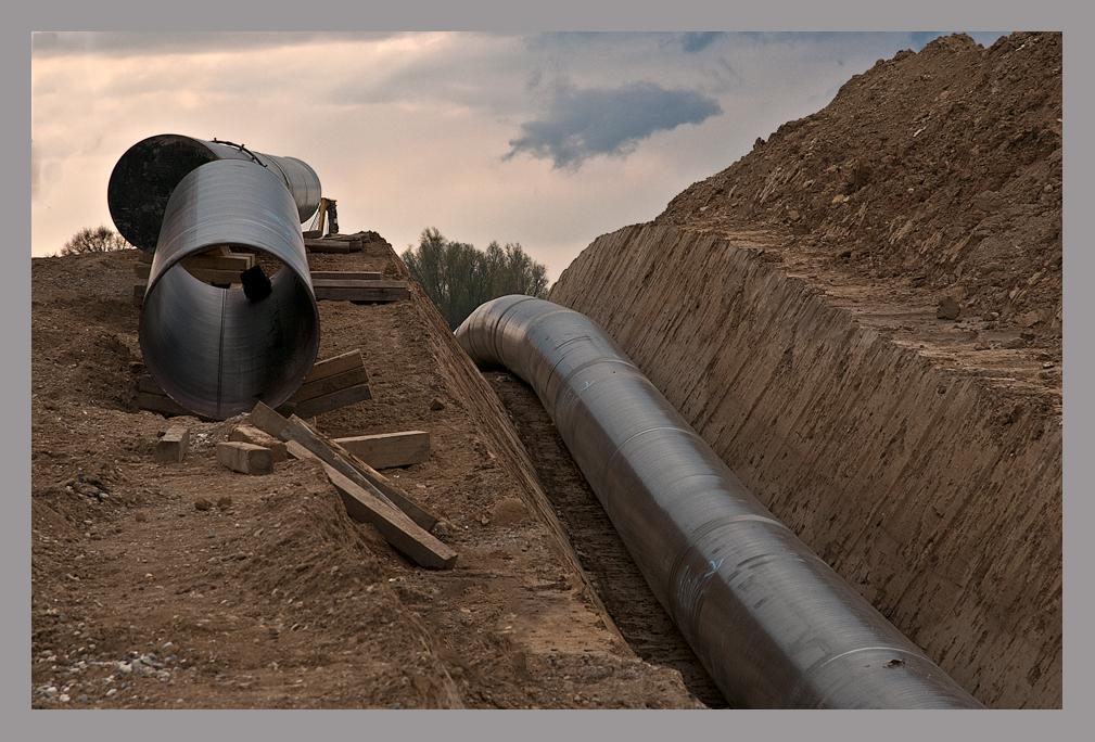Erdgasleitung
