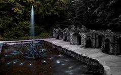 Eremitage Bayreuth,Wasserspiele Untere Grotte