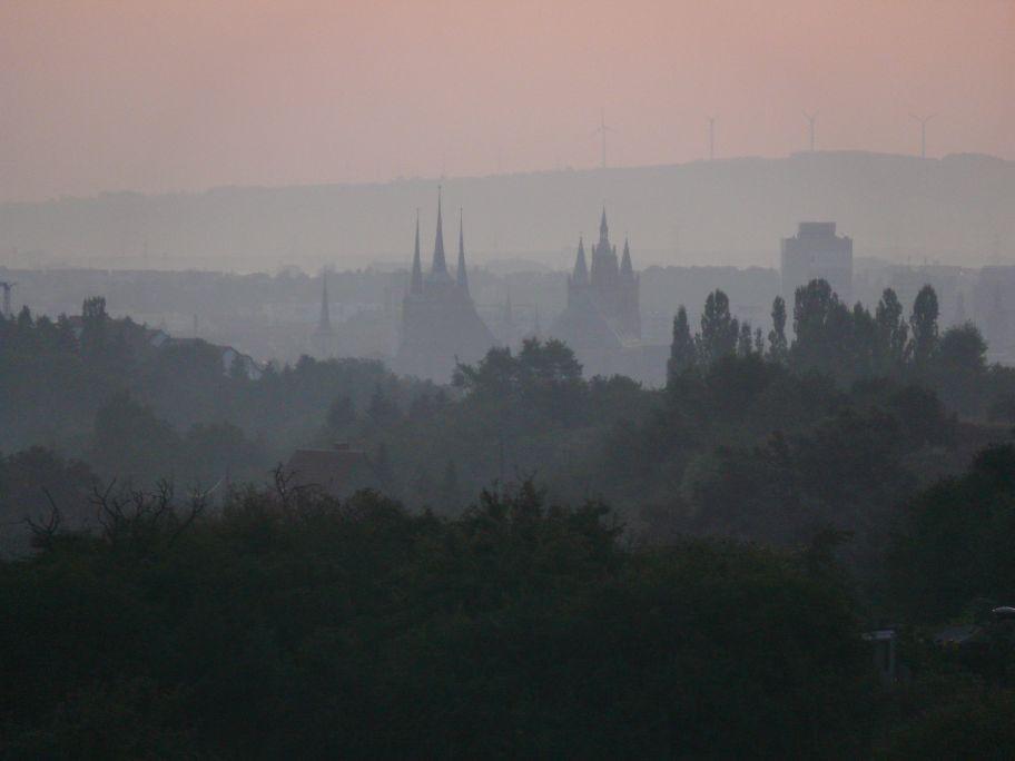 Erfurt - 10 Minuten vor Sonnenaufgang