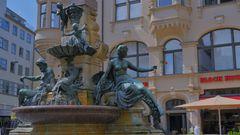"""Erfurt, Angerbrunnen (Erfurt, el fuente """"Angerbrunnen"""")"""