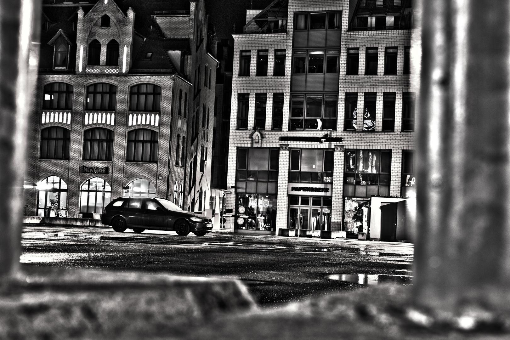 Erfurt bei nacht on ice