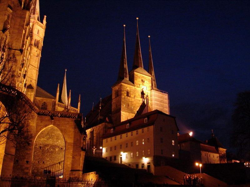 Erfurt by night