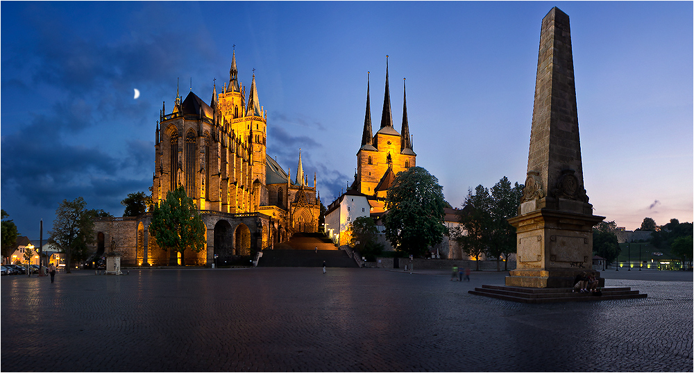 erfurt dom und severikirche foto bild deutschland europe th ringen bilder auf fotocommunity. Black Bedroom Furniture Sets. Home Design Ideas