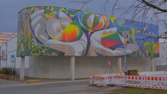 Erfurt, ein tolles Wandbild, 2 (Erfurt, un mural fantástico, 2)