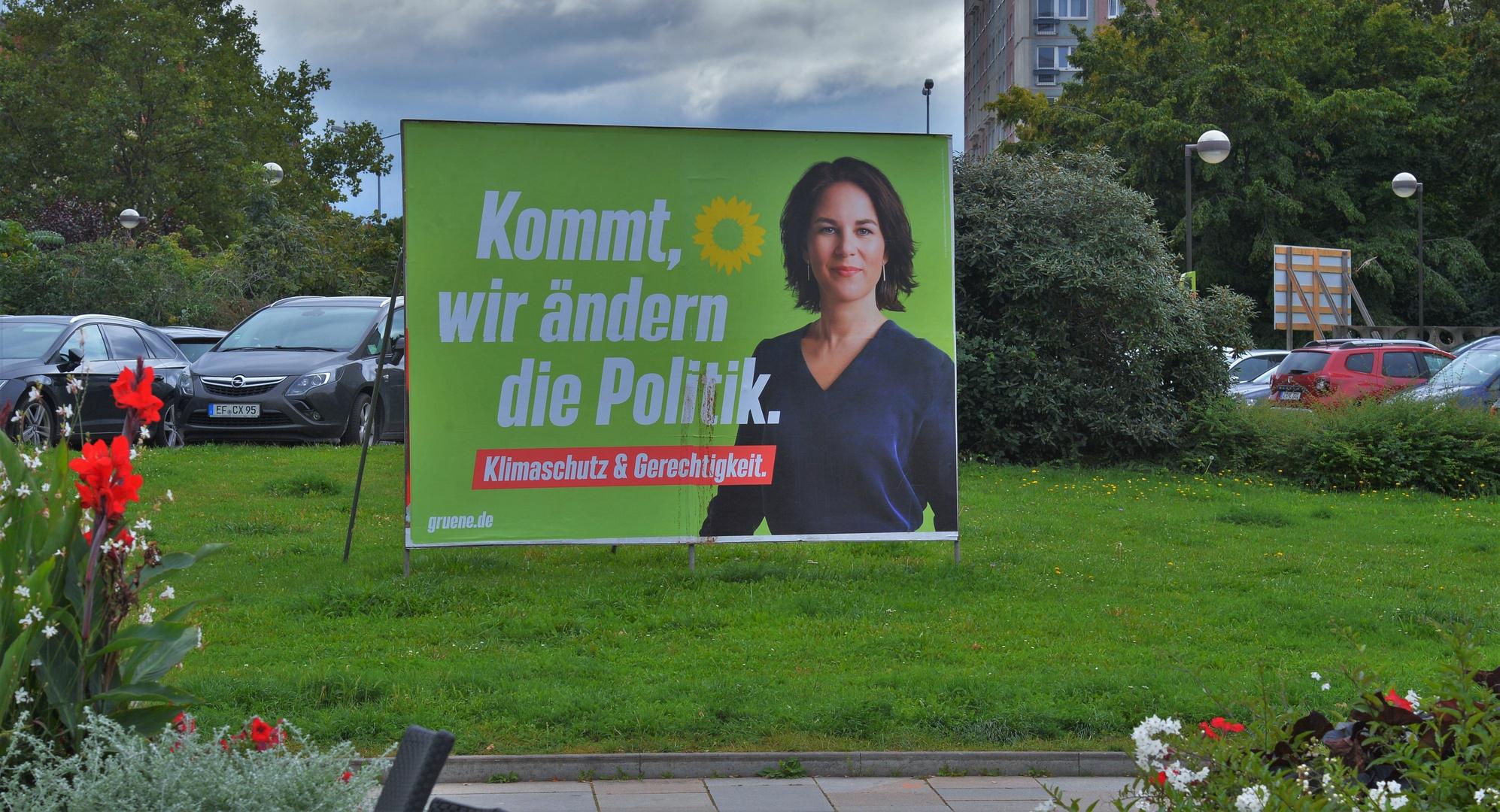 Erfurt, es wird grün (Erfurt, va a ser verde)