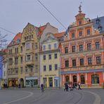 "Erfurt, Fischmarkt (Erfurt, la plaza ""Fischmarkt"")"