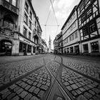 Erfurt in Schwarz-Weiß