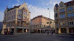 Erfurt, schöne Häuser (Erfurt, casas hermosas)