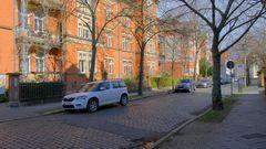 Erfurt, sonniges Wetter (Erfurt, hace sol)