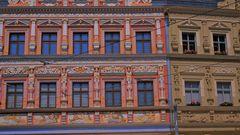 Erfurt, tolle Fassaden (Erfurt, fachadas fantásticas)