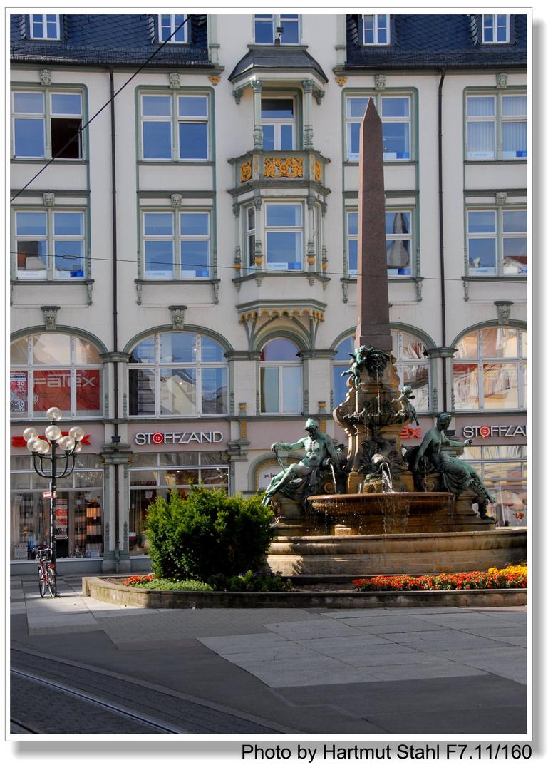 Erfurt, una ciudad alemana