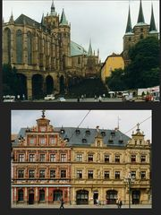 Erfurter Dom und Am Fischmarkt