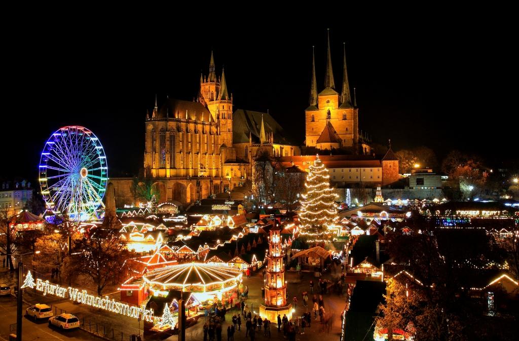Weihnachtsmarkt Erfurt.Erfurter Weihnachtsmarkt 2016 Foto Bild Weihnachtsmarkt Erfurt