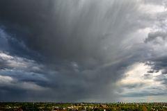 Ergiebige Regenschauer