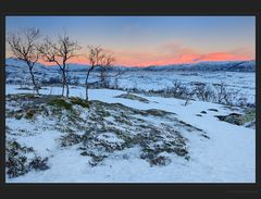 Erhabene Schönheit der Landschaft