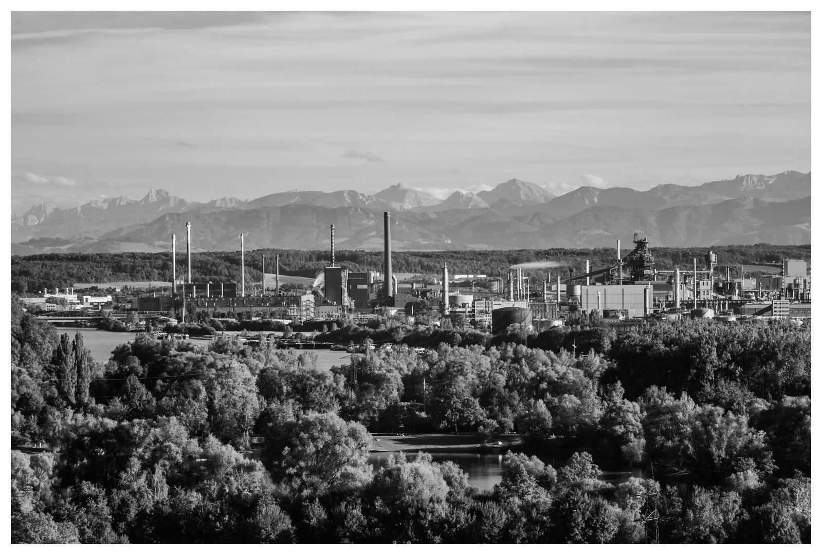 Erholungs- und Industriegebiet, Linz (A)