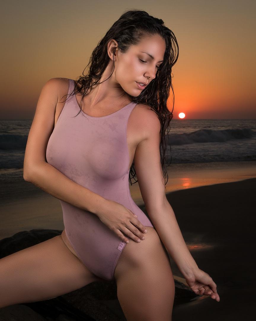 Erika posing in Mexico