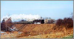 Erinnerung an die alte Heimat und die Dampfeisenbahn vor der Tür