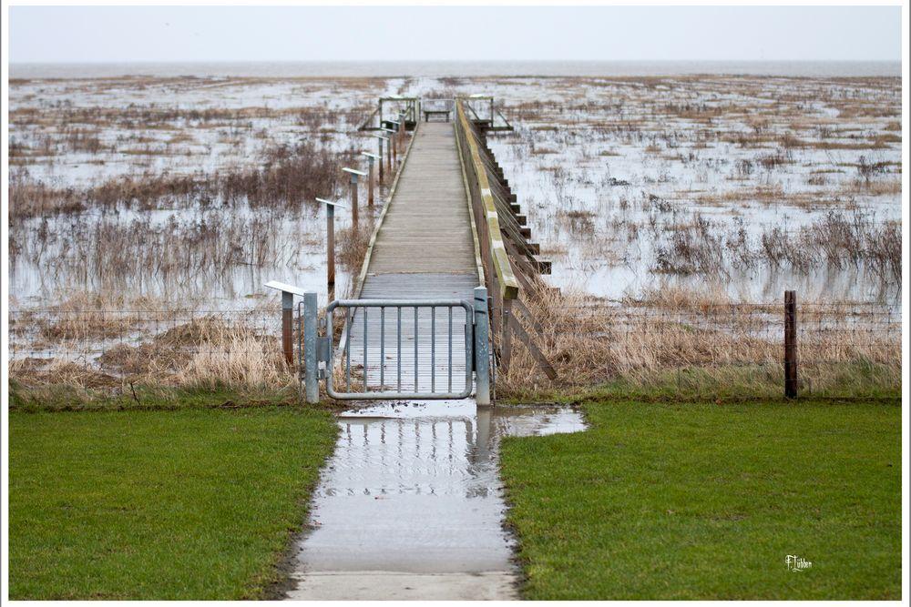 Erinnerung an die Sturmflut vor 300 Jahren