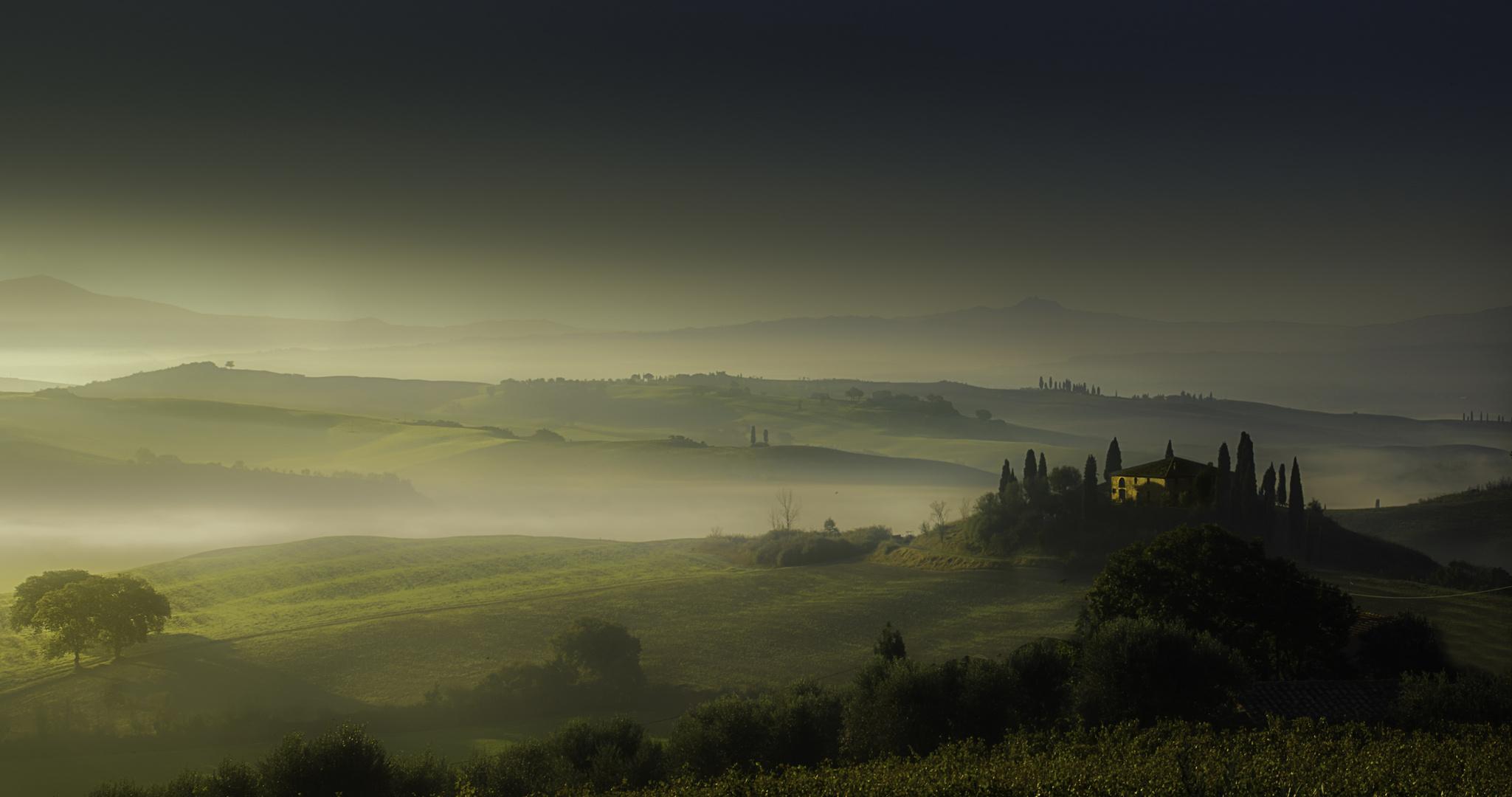 Erinnerung an die Toskana