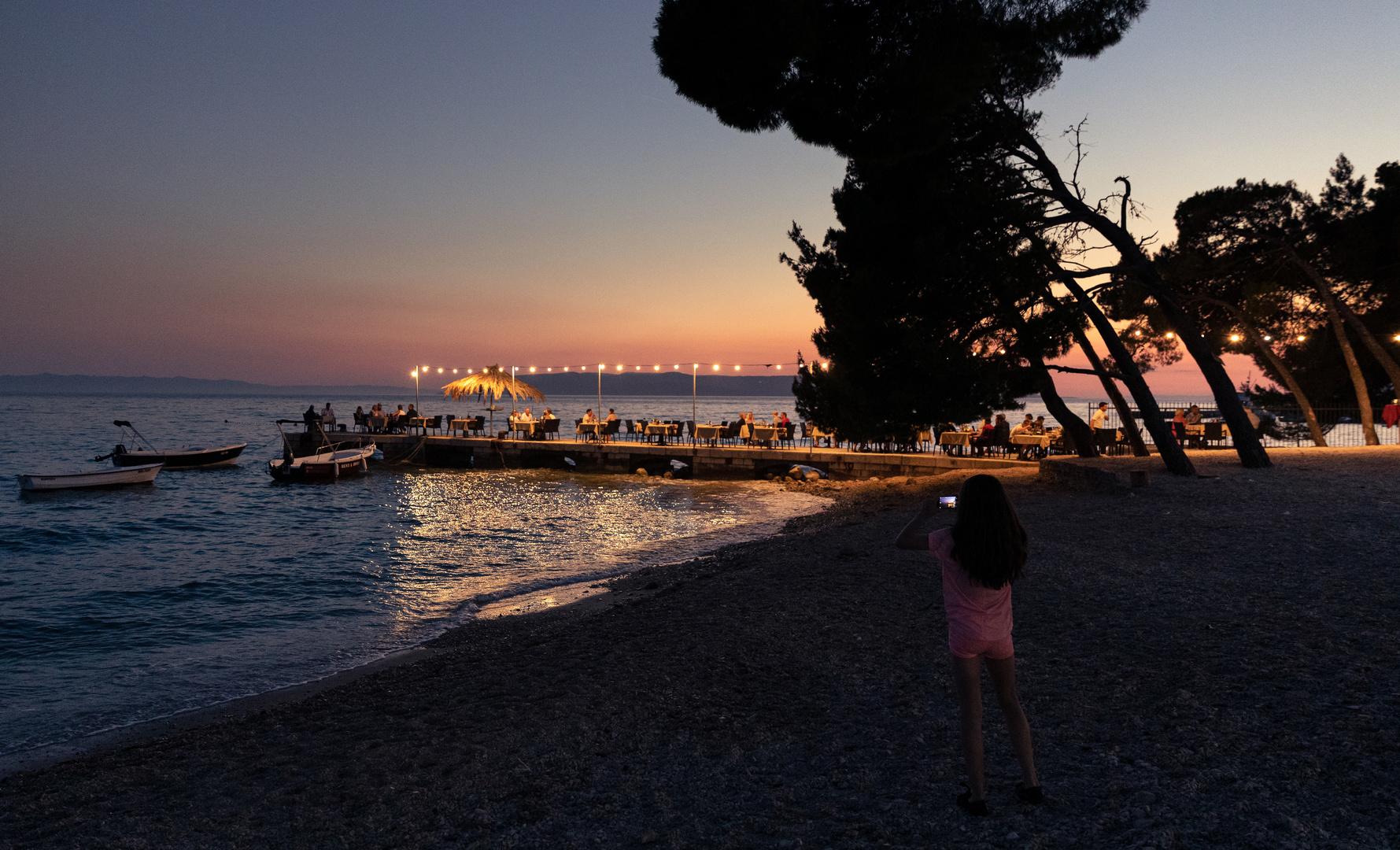 Erinnerung an einen schönen Abend in Kroatien