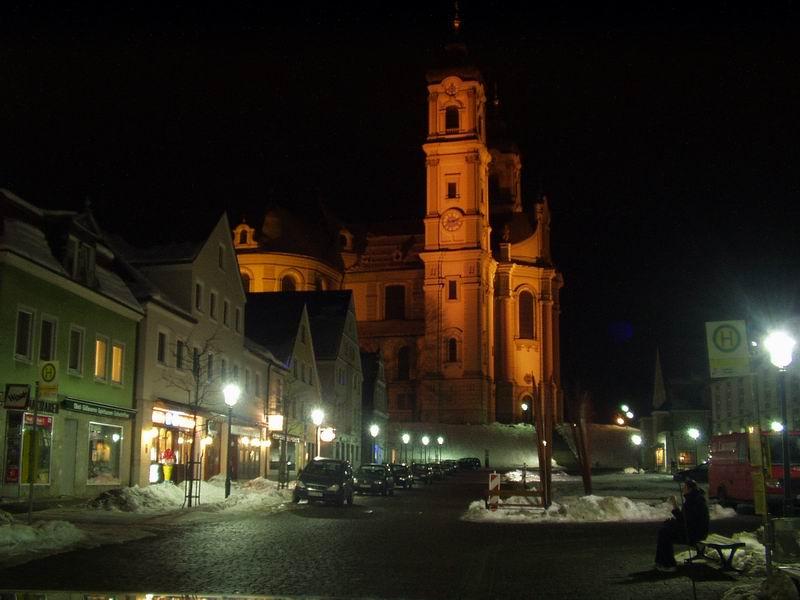Erleuchtete Basilika