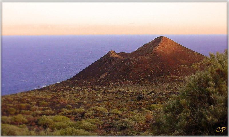 Erloschener Vulkan bei Las Indias