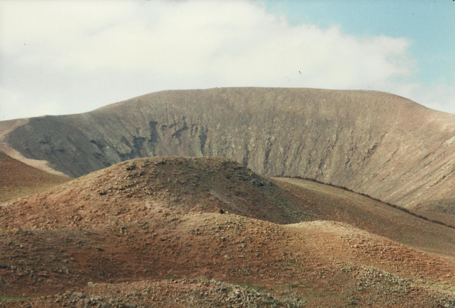 erloschener Vulkan