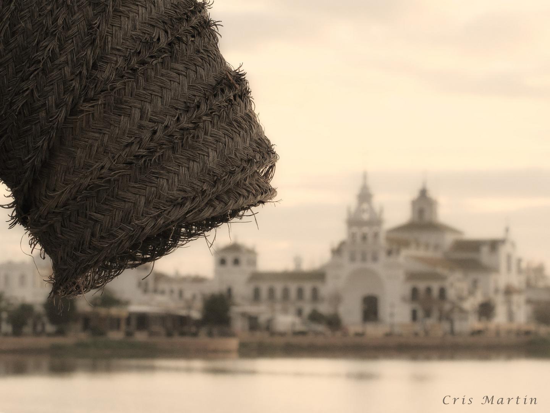 Ermita de El Rocío al amanecer