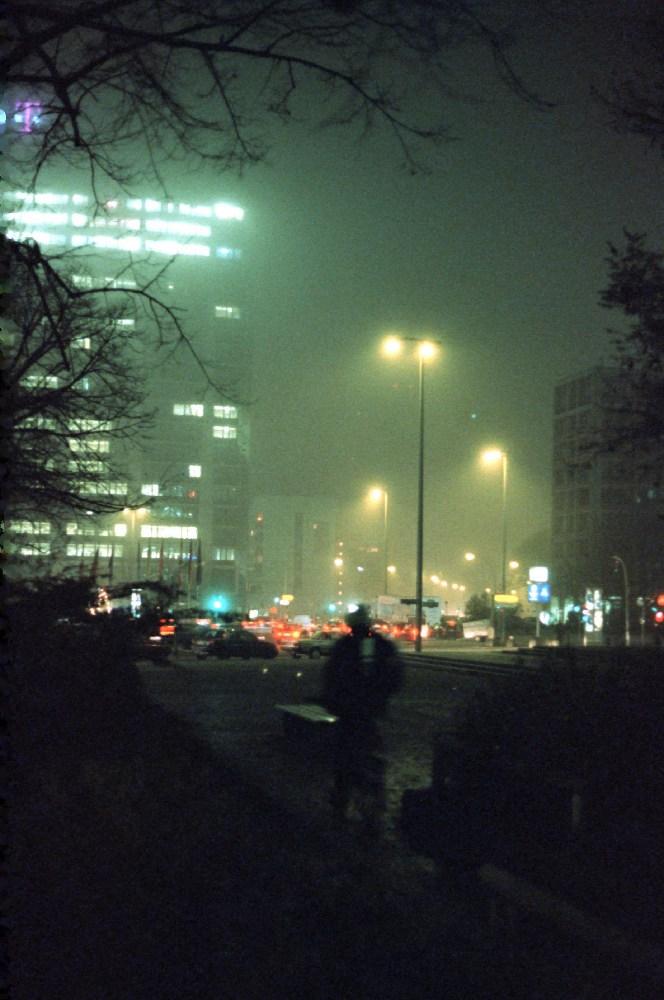Ernst-Reuter-Platz Winterstimmung