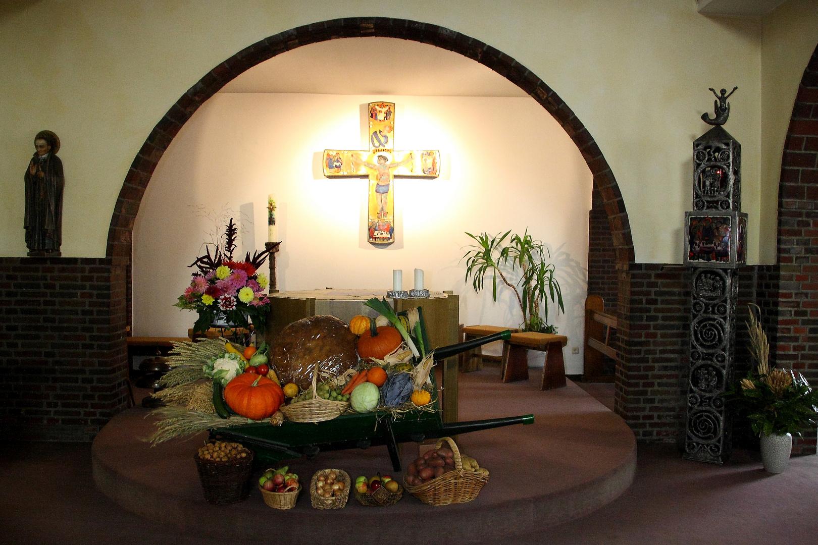 Erntedank 2013 im Jugendkloster, Kirchhellen