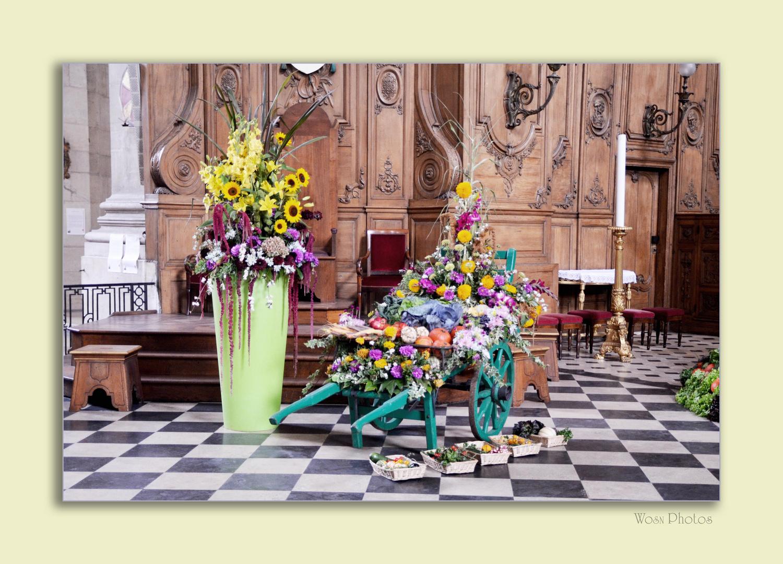 Erntedankfest in der Kathedrale von Nancy 2