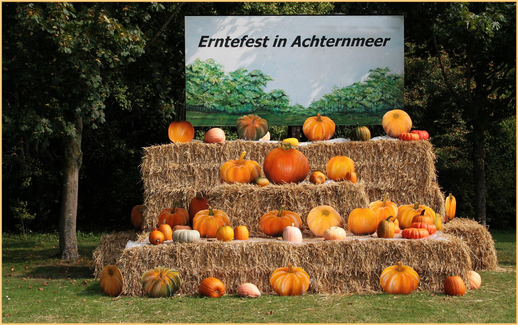 Erntefest in Achternmeer