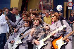 Eröffnung des Beatles-Platzes in Hamburg
